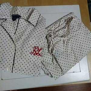🆕Ralph Lauren two-piece pajama set